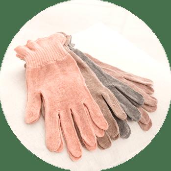 麻福の手袋